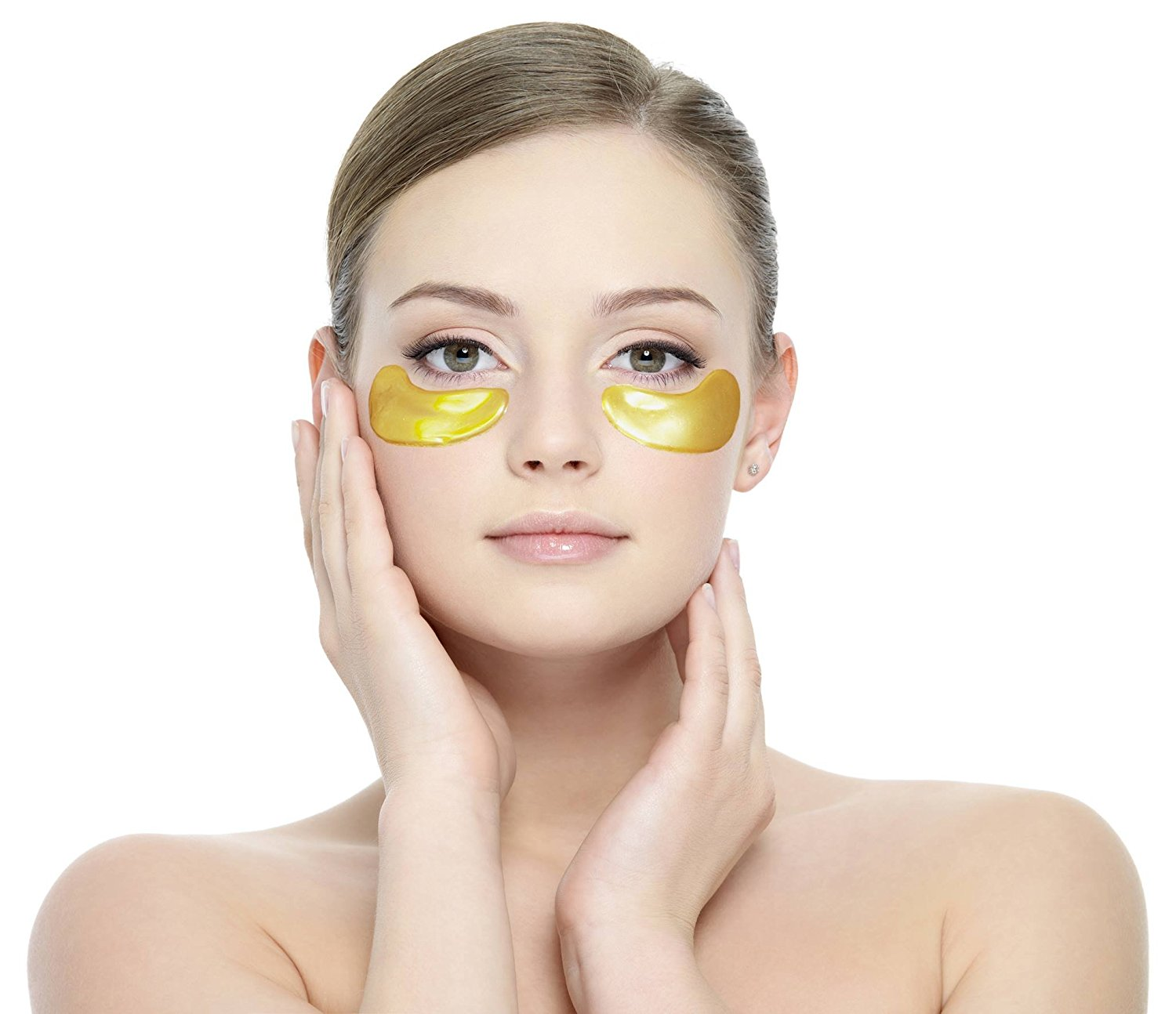 Beauty Tip!Collageen gold oogmaskers